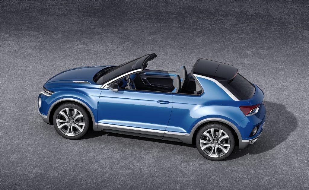 The VW T-Roc concept.