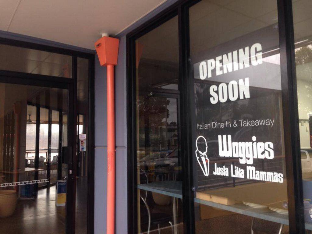 Toowoomba's newest Italian restaurant - Woggies.