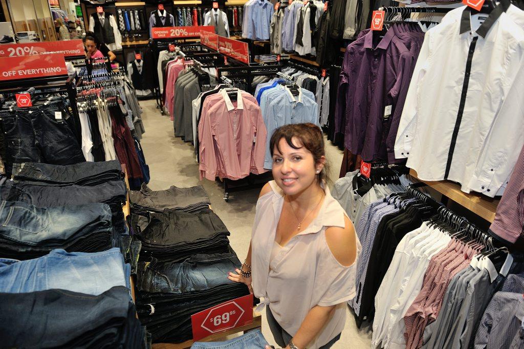 Connor store manager Georgina Garlando.