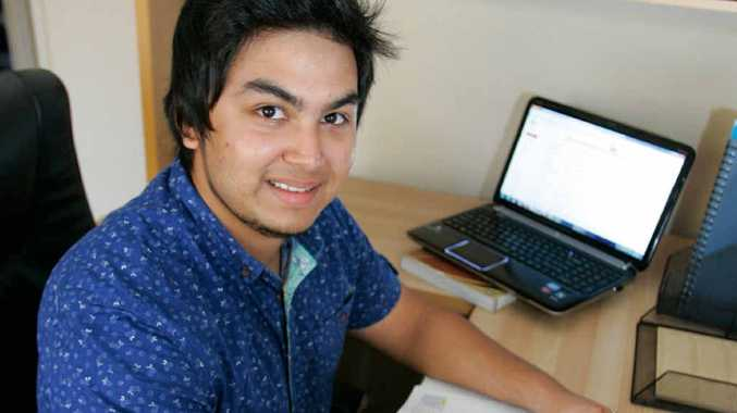 COUNTING THE COSTS: Mak Akbar feels the cost of going to university in Australia.