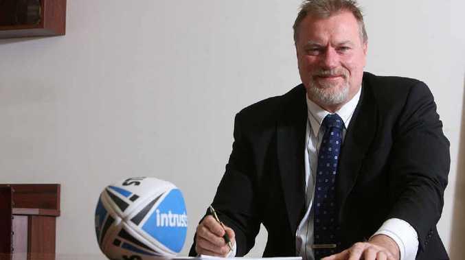 COMMUNITY TEAM: Western Corridor bid chairman Steve Johnson wants the community to own an Ipswich-based NRL side.