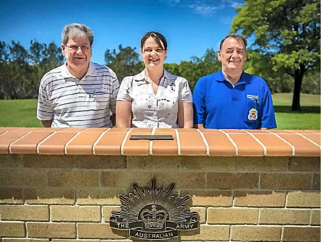 MEMBERS WANTED: Michael Robbins, Gayle Lamping and Jeff Tickner are members of the Boyne-Tannum RSL.