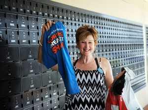 Carol delivers on $2000 goal for leukemia fundraiser