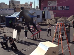 Hoverboard video fails to convince the masses
