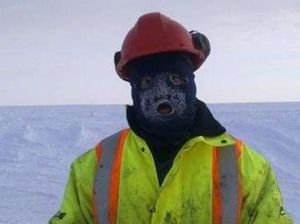 Arctic chills all in day's work for diamond driller