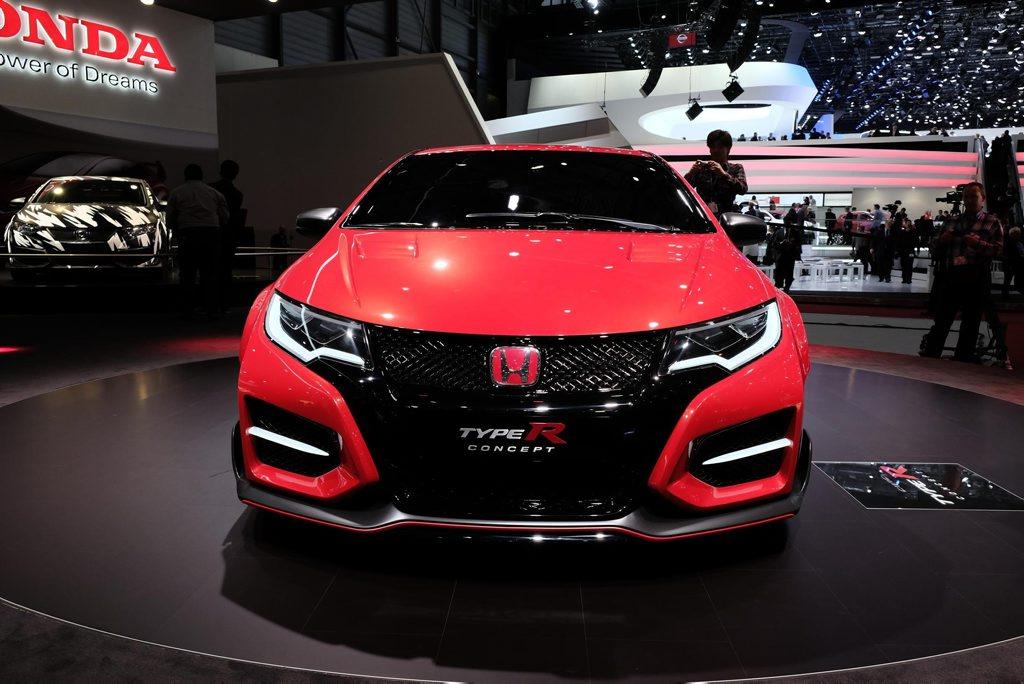The Honda Civic Type R.