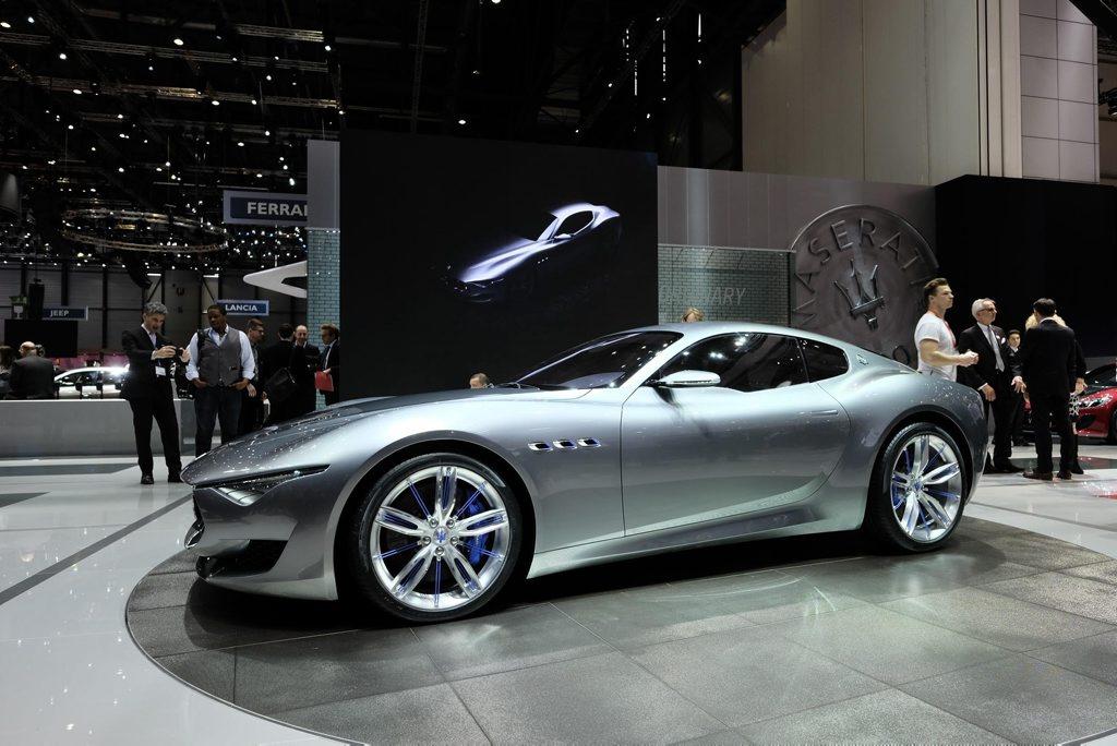 The Maserati Alfieri.