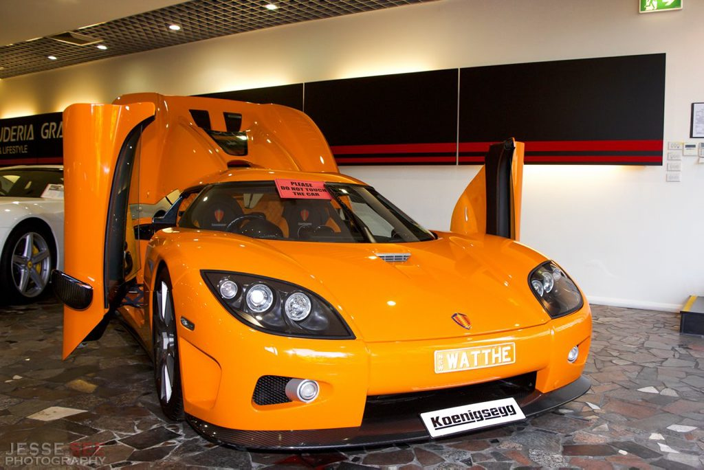 The 2008 Koenigsegg CCX.