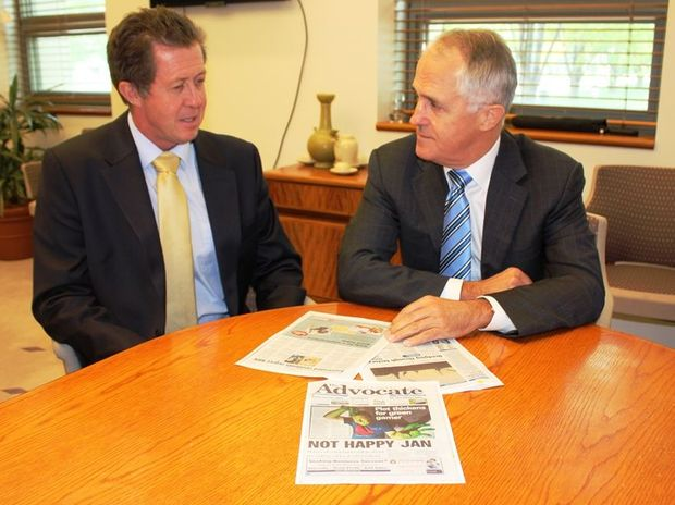 Luke Hartsuyker was named as the Minister for Vocational Education and Skills and Deputy Leader of the House by new Prime Minister Malcolm Turnbull. Photo: Contributed/File