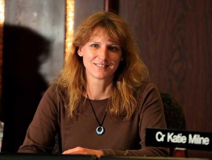Cr Katie Milne.