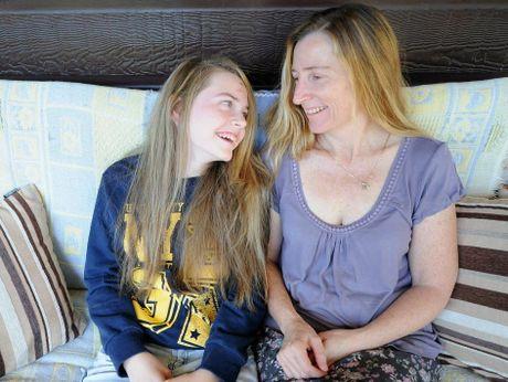 Shania Duncan and her mum Melissa.