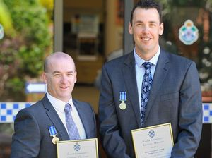 Gladstone region police saluted for their dedication