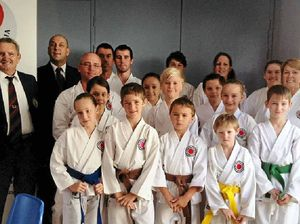 Gympie karate team proves a big hit at Pomona titles