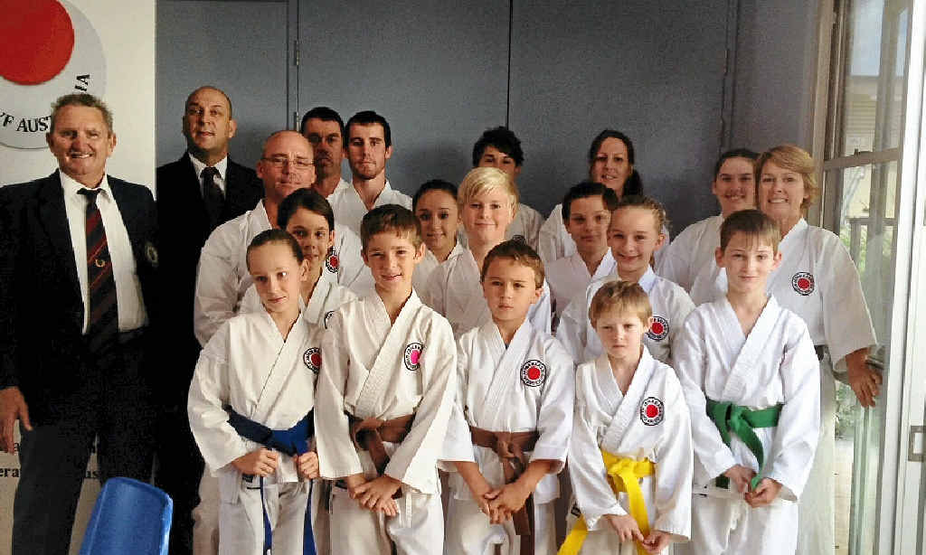 The Gympie Karate Academy squad that competed in the Pomona titles on the weekend.
