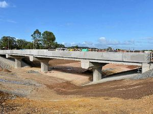 Bruce Hwy's new section is set to open in the coming month