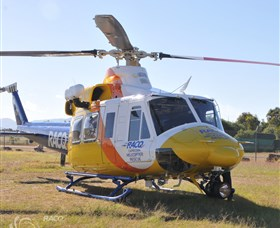 The RACQ  CHRS was called and on arrival started a search of the area.