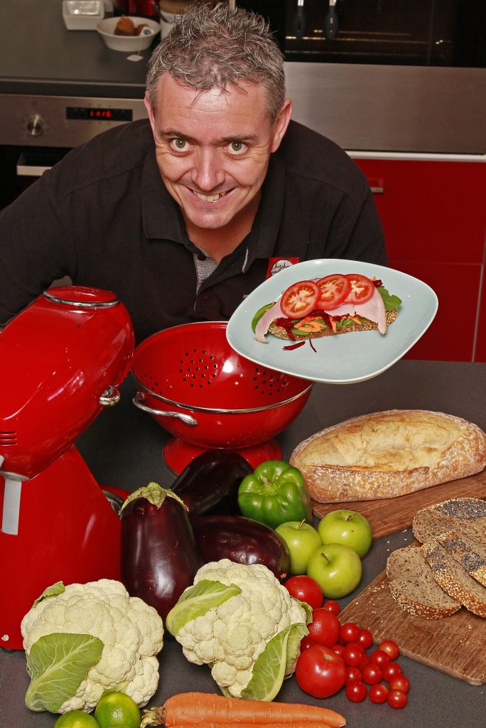KITCHEN CONFIDENCE: Wayne Bryans is delighted with the response of the Bundaberg public. Photo: Simon Young / NewsMail