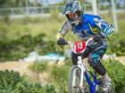 Dad joins daughters on BMX track and finds fast success