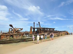 Fraser Island's Maheno will be 110 years old next year