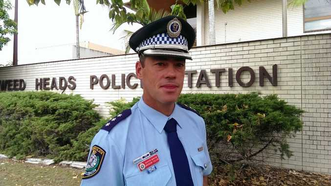 Tweed Byron LAC crime manager Detective Inspector Brendon Cullen.