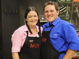 MKR favourites Annie and Jason in sudden death cook-off