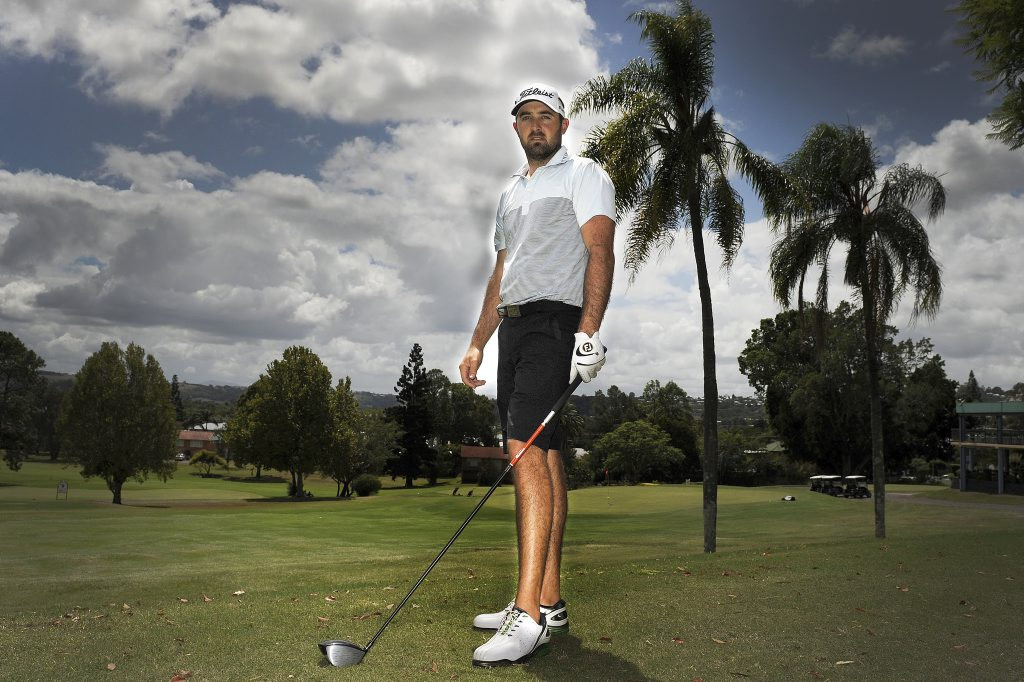 Lismore touring golf pro, Rhein Gibson, is preparing for a big year on the course.