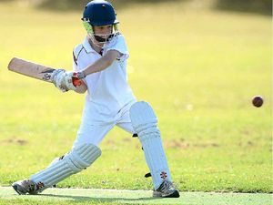 12-year-old batsman strikes 98 in team's run to victory