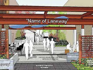 CBD laneway project hits a second wall