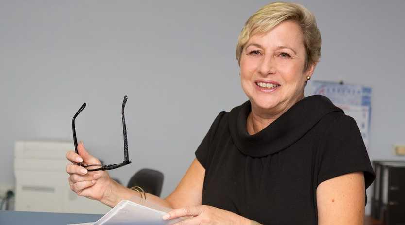 INSPIRING: Joy Mingay shares some practical wisdom with the women of Toowoomba. Photo: Tim Swinson/ Style Magazine