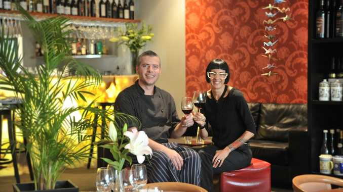 Aaron and Kym-Sarah Ruttan from the Spice Bar at Mooloolaba. The business has just moved to the Esplanade.