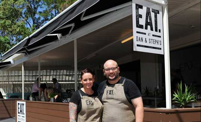 Dan and Steph Mulheron have opened up their own restaurant on the Esplanade in Torquay.