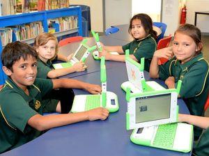 Berserker kids say thanks One Laptop Per Child Australia