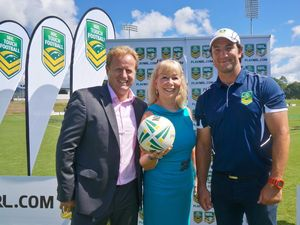 League's top man gets a touch of Coffs hospitality