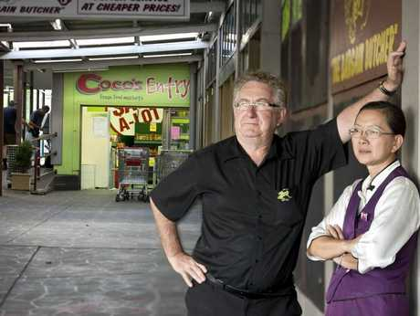 Qi Lin Oriental Cuisine co-owners Daryll Scott and Annette Cheung hope Coco's Fresh Food Market will remain open.