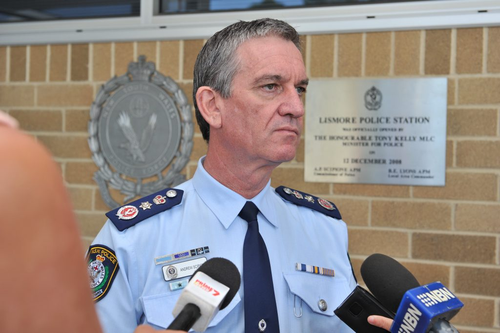 NSW Police Commissioner, Andrew Scipione.