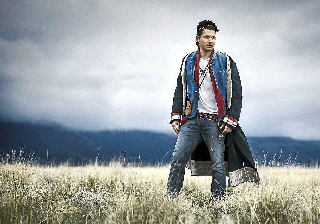 WONDER LAND: American crooner John Mayer will bring his massive repertoire to Bluesfest.