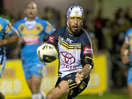 MASTER TACTICIAN: Johnathan Thurston (right) has answered the critics, who once said he was too slow and too small.