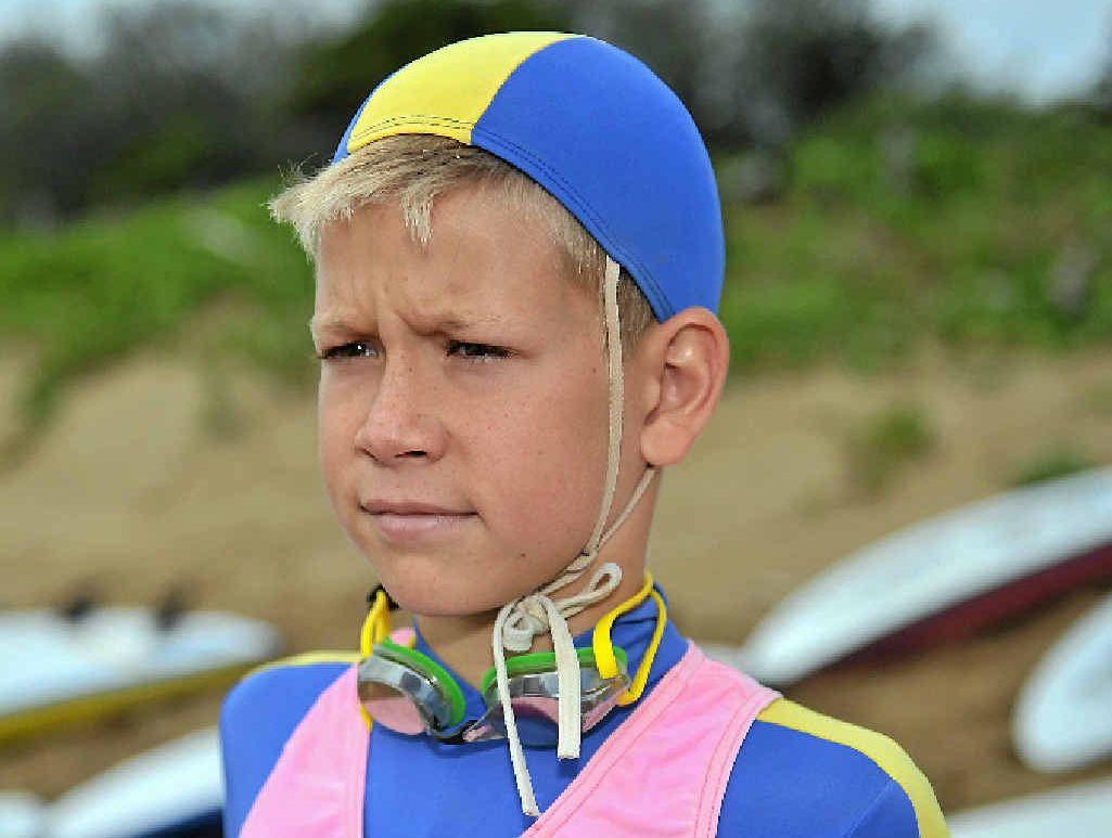 Drew Bebendorf will attend the Queensland Junior Surf Life Saving championships at North Kirra.