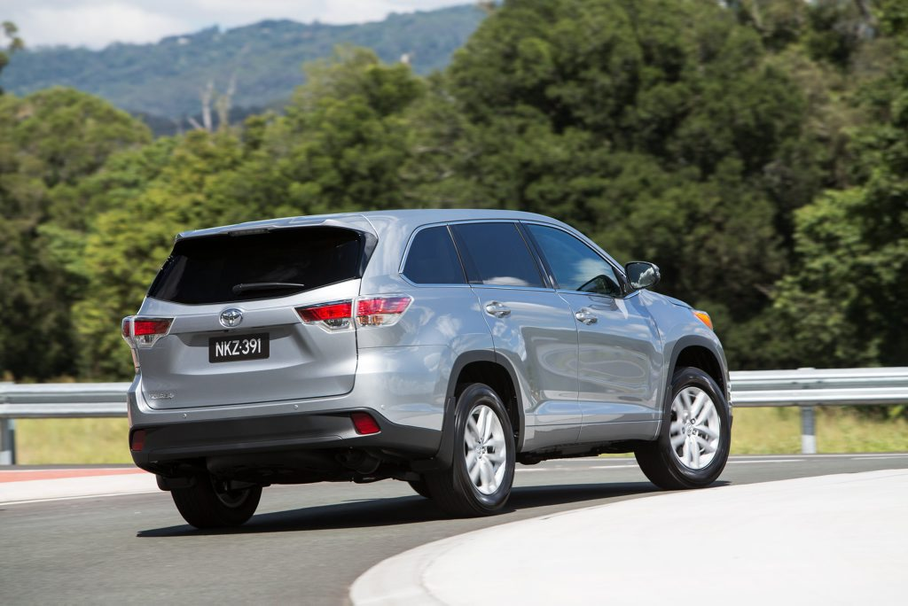 The 2014 Toyota Kluger GX.