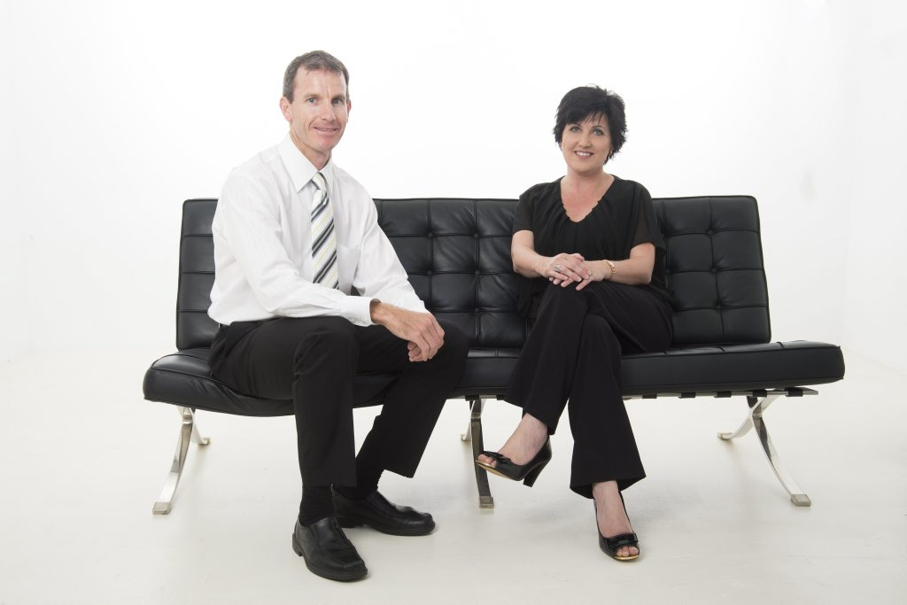 JOINING FORCES: Derran and Liz make a dynamic duo at Ray White Gladstone.