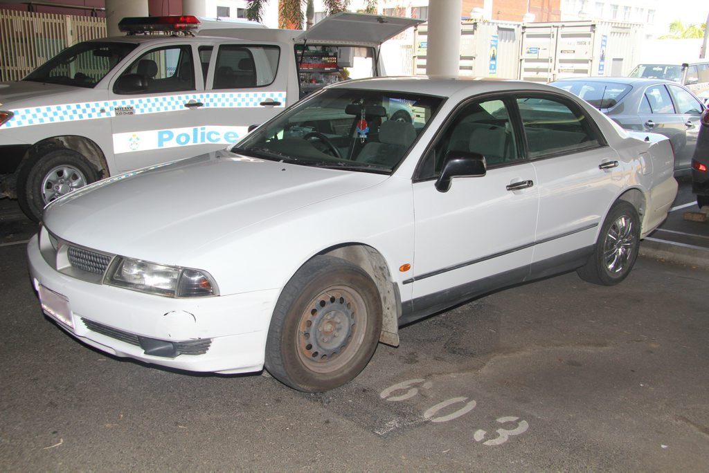 Police are appealing for anyone that may have seen this vehicle or persons associated with this vehicle in the Rockhampton or Yeppoon area in March 2013. Photo Contributed