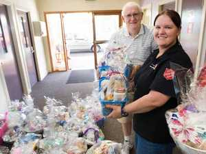 Country women pampered with hampers