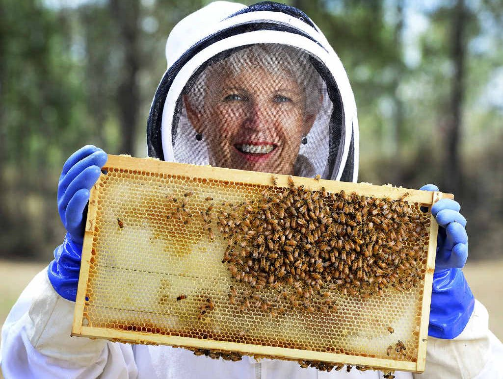 ALL ABUZZ: Benita Ironside hopes to draw more people into beekeeping with an information and activities day.