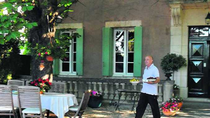 OUI OUI: Michel will bring your breakfast to you under the chestnut trees.