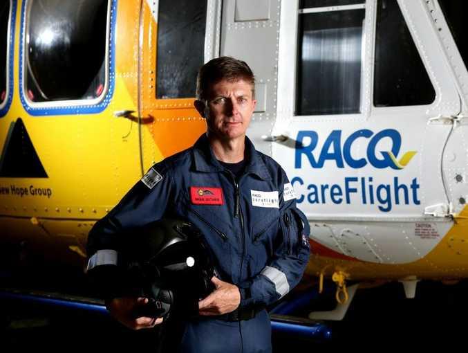 RACQ CareFlight Chief Aircrewman Brian Guthrie