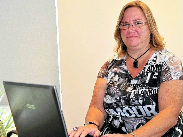 FULLY FOCUSED: Publisher Barb Cook runs a magazine devoted to autism.