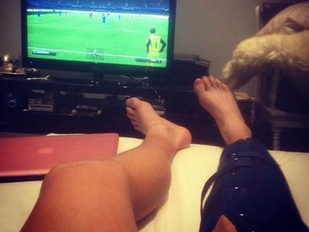 Rockhampton's Melbourne Storm player Cameron Munster is awaiting the results of scans on his right knee.