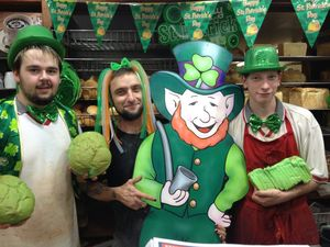 Toowoomba goes green for St Patrick's Day