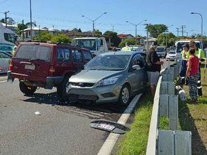Stolen car crash ends road drama