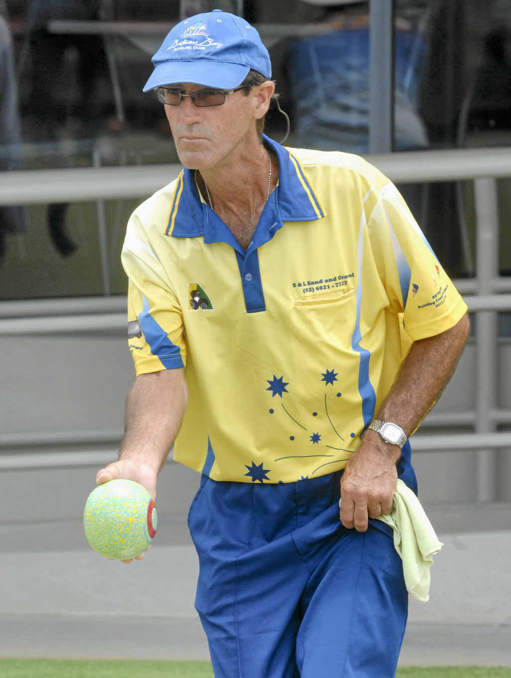 FINAL FOUR: South Lismore bowler Ian Martin is looking forward to the semi-finals of the NRDBA Singles.